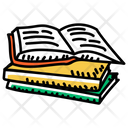 Booklets Books Reading Books Pile Icon