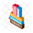 Stack Books Library Icon