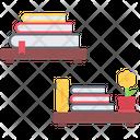 Bookshelf Book House Icon