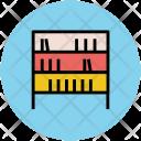 Bookshelf Library Study Icon