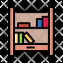 Bookshelf Book Rack Books Icon