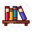 Bookshelf Book Stand Books Icon