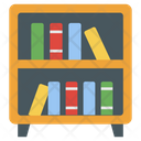 Bookshelf Shelf Study Room Icon