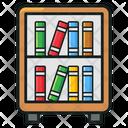 Book Rack Bookshelf Library Book Icon