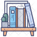 Bookcase Books Shelf Icon