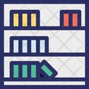 Display Furniture Rack Icon