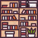 Book Bookcase Library Icon