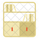 Bookcase Cabinet Home Icon
