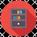 Bookshelf Book Rack Icon