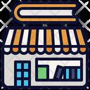 Bookstore Shop Book Icon