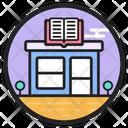 Bookstore Shop Library Icon