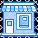 Bookstore Shop Market Icon