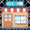 Bookstore Books Shop Retail Shop Icon