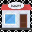 Bookstore Bookshop Library Icon