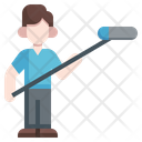 Boom Operator Professions And Jobs Electronics Sound Film Icon