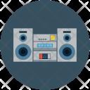 Boombox Audio Tape Icon