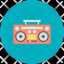 Boombox Radio Cassette Icon
