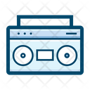 Boombox Hifi System Stereo Icon