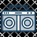 Tape Recorder Cassette Recorder Boombox Icon
