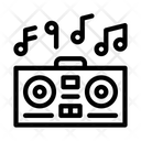 Playing Record Player Icon
