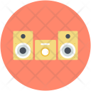 Boombox Ghetto Blaster Icon