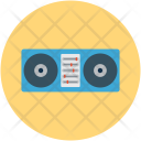 Boombox Cassette Player Icon