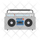 Cassette Player Boombox Icon