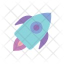 Boost Startup Rocket Icon