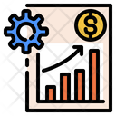 Technical Skills Boosting Boost Sales Icon