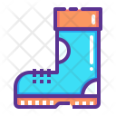Boot Winter Cold Icon