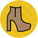 Boot Woman Shoes Icon