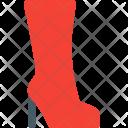 Long Boot Shoe Icon