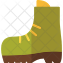 Boot Footwear Walking Icon