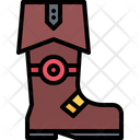 Boot Sailor Footwear Icon