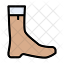Boot Longshoe Safety Icon