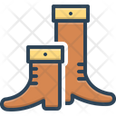 Tall Boot Long Icon