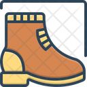 Boot Footwear Footgear Icon