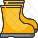 Boot Footwear Rubber Icon