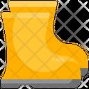 Rain Boat Rain Shoes Boot Icon