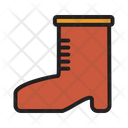 Boot Footwear Hiking Icon
