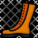 Boot Hiking Equipment Icon