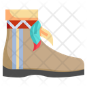 Boot Footwear Native American Icon