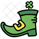 Boot Clover Leaf Icon