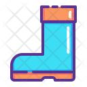 Boot Footwear Winter Icon
