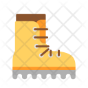 Boot Trekking Vacation Icon
