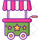 Booth Cart Stall Icon