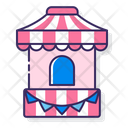 Booth Stall Shop Icon