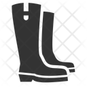 Boots Fall Footwear Icon