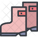 Boots Shoes Long Shooes Icon