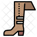 Boots Footwear Shapes Icon